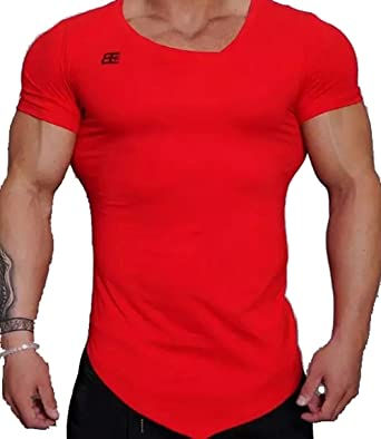 Camisa Manga Corta Hombre t-Shirt compresiva para Deporte ...
