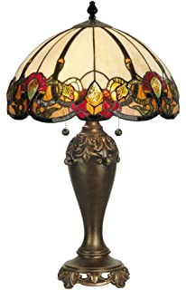 Dale tiffany tt70699 marshall table lamp antique brass and art dale tiffany tt90235 northlake table lamp antique bronze aloadofball Images