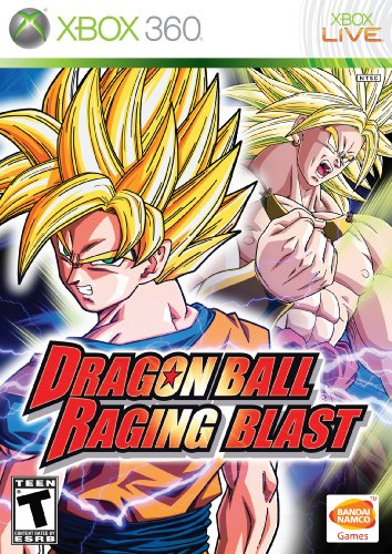 Dragon Ball: Raging Blast - Xbox 360 (Dragon Ball Xbox Z 360)