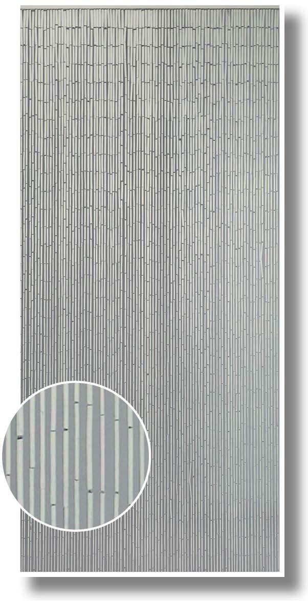 Vorhang Türvorhang Raumteiler Fliegenvorhang Insektenvorhang Circle blickdicht