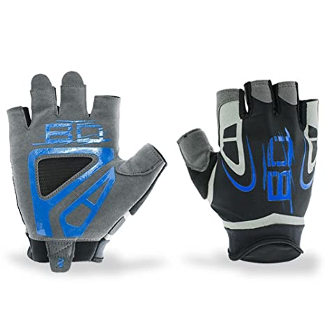 373c42730a27 Amazon.com   Cycling Gloves Half Finger Gym Fitness Gloves Sports ...