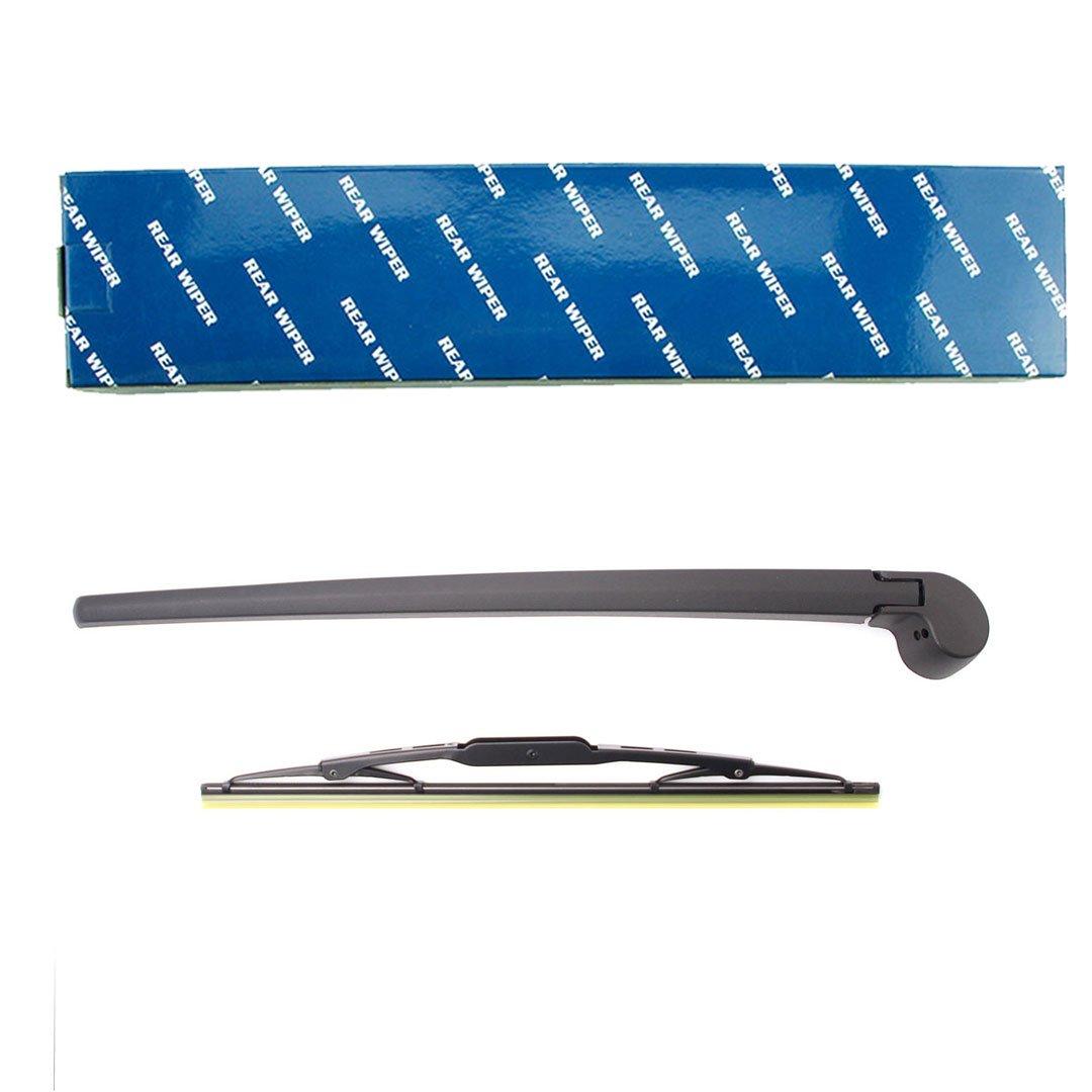 Parabrisas Trasero Brazo del limpiaparabrisas y Blade Set para A3 8P 2003-2008 A4 B6 B7 2001-2008: Amazon.es: Coche y moto