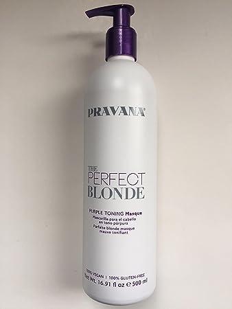 Amazon Com Pravana The Perfect Blonde Purple Toning Masque 16 Fl