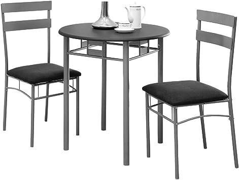 Black and silver Set 3 pieces set