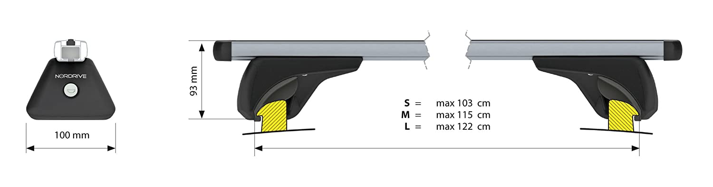LAMPA N15065 Kit Barre Portatutto Nowa