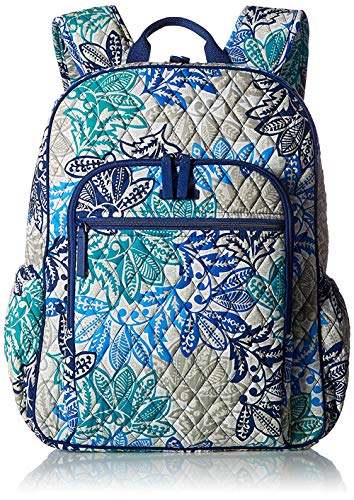 Vera Bradley Quilted Signature Cotton Campus Backpack (Heirloom Paisley)