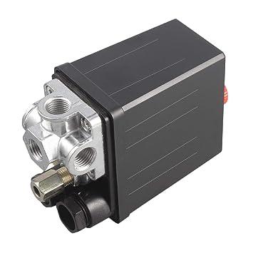 Control del Interruptor del compresor de Aire, Heavy Duty 240V 16A Control automático Auto Load
