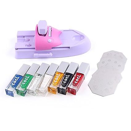 Pinkiou - Máquina para impresora de uñas, estampador de uñas ...