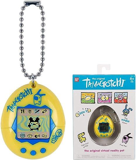 Amazon.es: TAMAGOTCHI Original-Amarillo y Azul, Color (Bandai 42812)