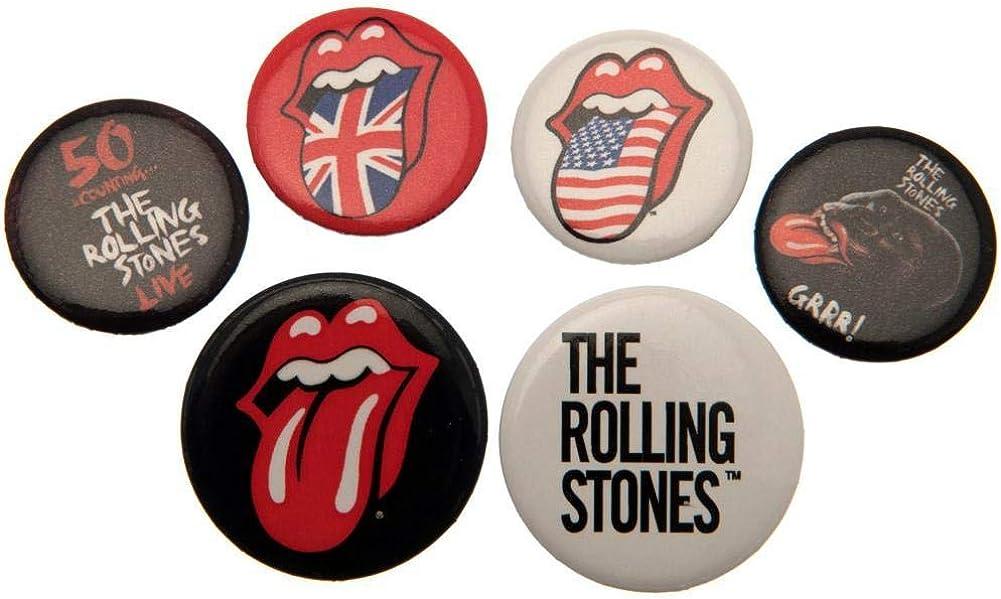 Rolling Stones The Pack de chapas (Talla Única) (Multi-colour): Amazon.es: Ropa y accesorios
