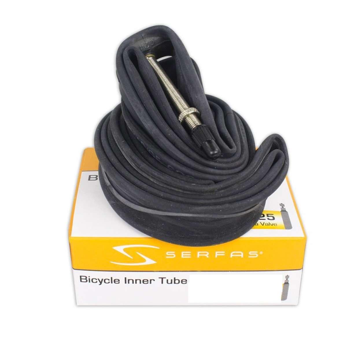 Serfas自転車チューブ – Presta 48 mm – 27.5 X 2.5 / 3.0 – tp2752530 B076GJN5LC