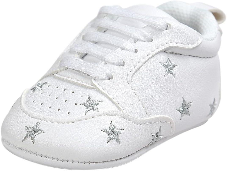 Switchali Zapatos Bebe ni/ña Primeros Pasos Verano Reci/én Nacido Ni/ñas Cuna Suela Blanda Antideslizante Zapatillas ni/ño Vestir Casual Calzado de Deportes Zapatos de beb/é