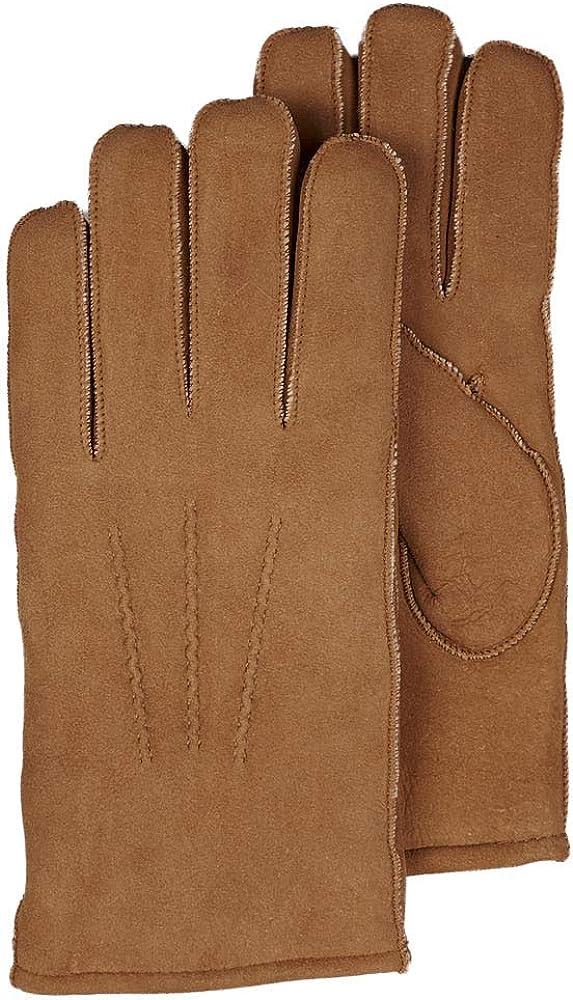 frr Mens Minnesota Suede Shearling Sheepskin Gloves