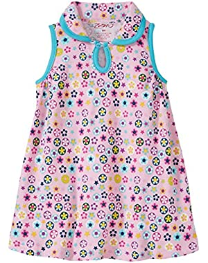 Flower Shower Keyhole Collar Dress (Baby)