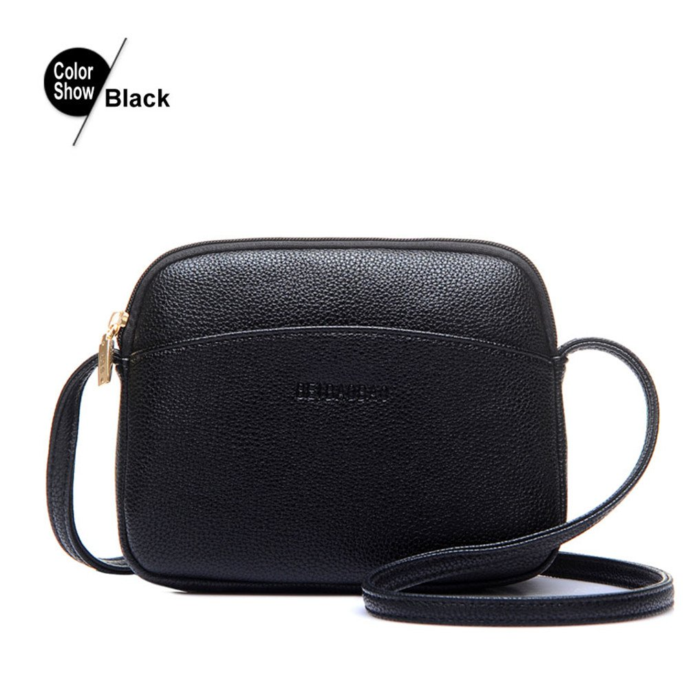 2bdf6f6bf51f Amazon.com  ANANXILA NEW Hot Crossbody Bags For Women Casual Mini Candy Color  Messenger Bag Shoulder Bags Black Mini(Max Length 20cm)  Garden   Outdoor