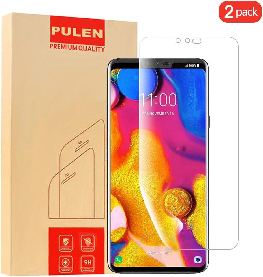 PULEN [2 Pack LG V40 ThinQ Protector de Pantalla, Cobertura ...