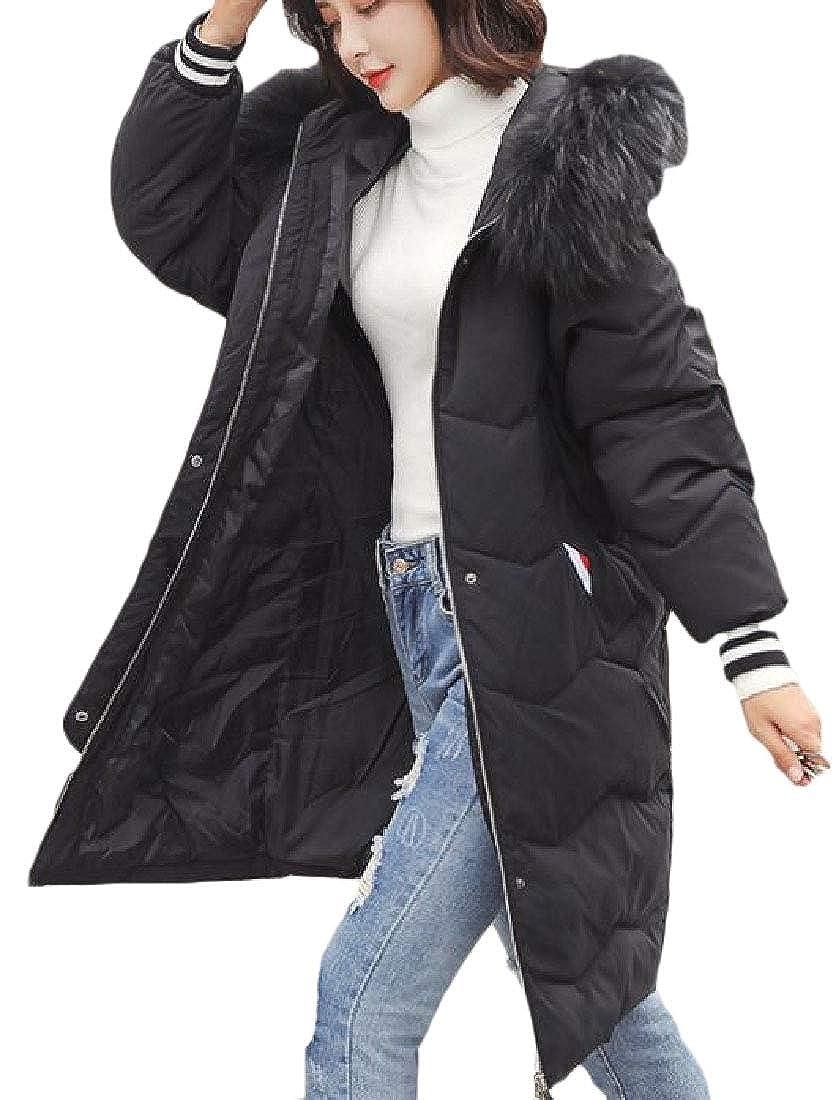 3 Keaac Women Packable Outwears Plus Szie LongSleeved Fashion Hoode Jackets