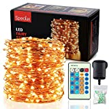 Fairy Lights LED String Lights - Speclux 30M 300 LEDs Copper Wire Lights Waterproof, Dimmable with Remote Control, Decorative Twinkle Starry Lights for Indoor Outdoor Garden Patio Wedding Christmas