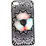St.Mandyu 2 in 1 LED Glowing Fidget Spinner Phone Case for IPhone 7/7 Plus Iphone 6/6Plus