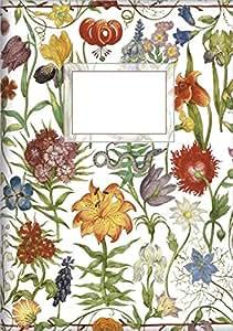 Cuaderno de notas A5 Flores de jardin