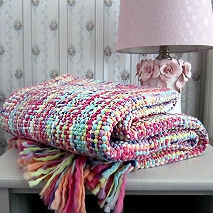 BDUK Los niños pequeños Manta almuerzo mantas toallas son hogar de Tatu hilado teñido de textiles