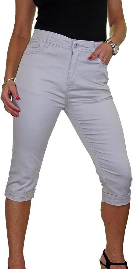 ICE Jeans Capri con Elasticit/à e Lucentezza 42-52