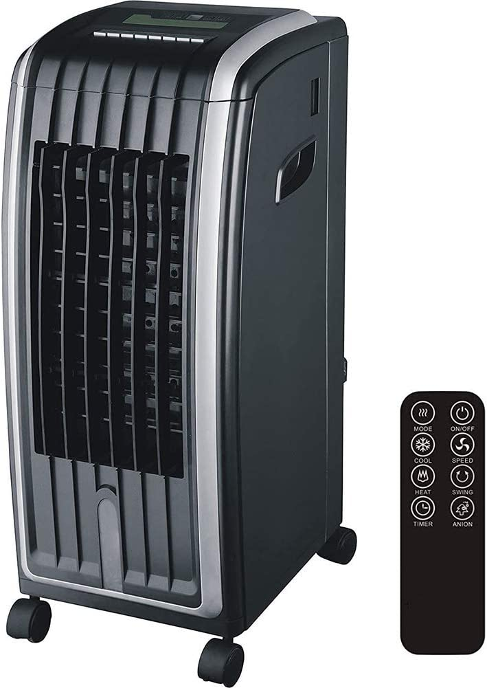 DNNAL Large Air Cooler, Portable Modern 6.5L 4-in-1 Air Evaporative Cooler, Air Purifier & Humidifier for Home Office