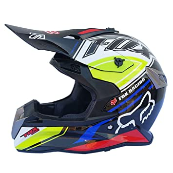 WZFC Casco para Adultos Off Road Dot Dirt Dirt Bike Motocicleta para Vehículos Todo Terreno (