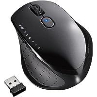 BUFFALO 無線 BlueLED 5ボタン ネオフィットマウス Mサイズ ブラック BSMBW515MBK