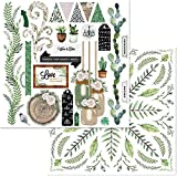 """Garden Party Double-Sided Cardstock 12""""X12""""-Love Story"""