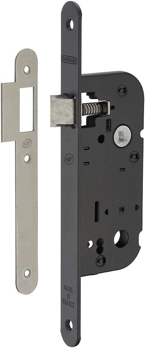 Serrupro – Cerradura empotrable para puerta interior NF – V/BR
