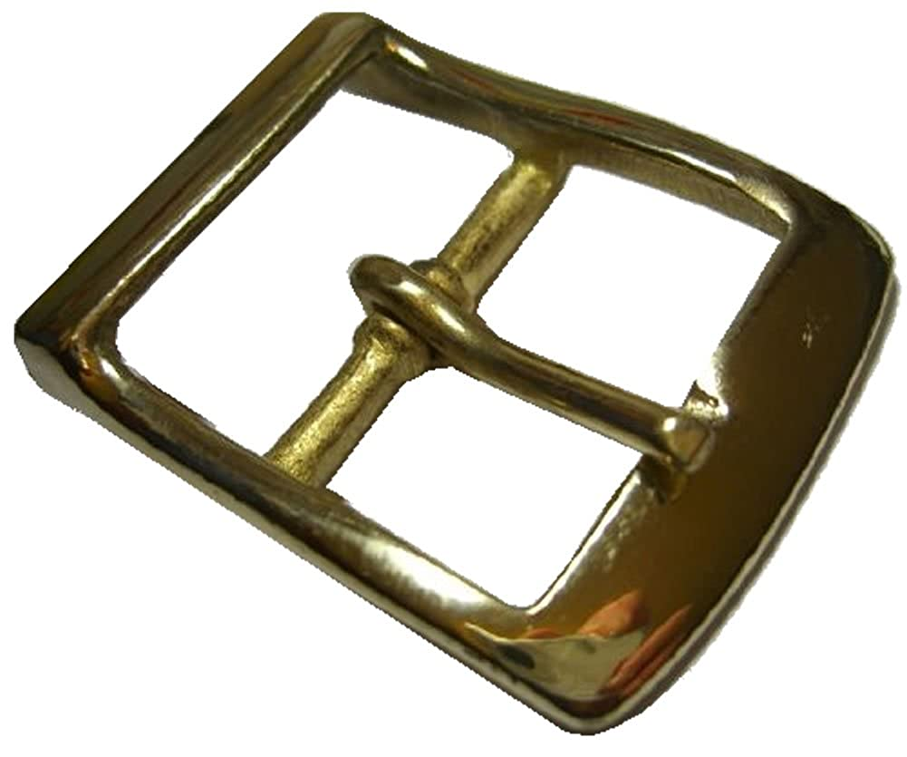 Solid Brass Belt Buckle (1.5 inch wide)