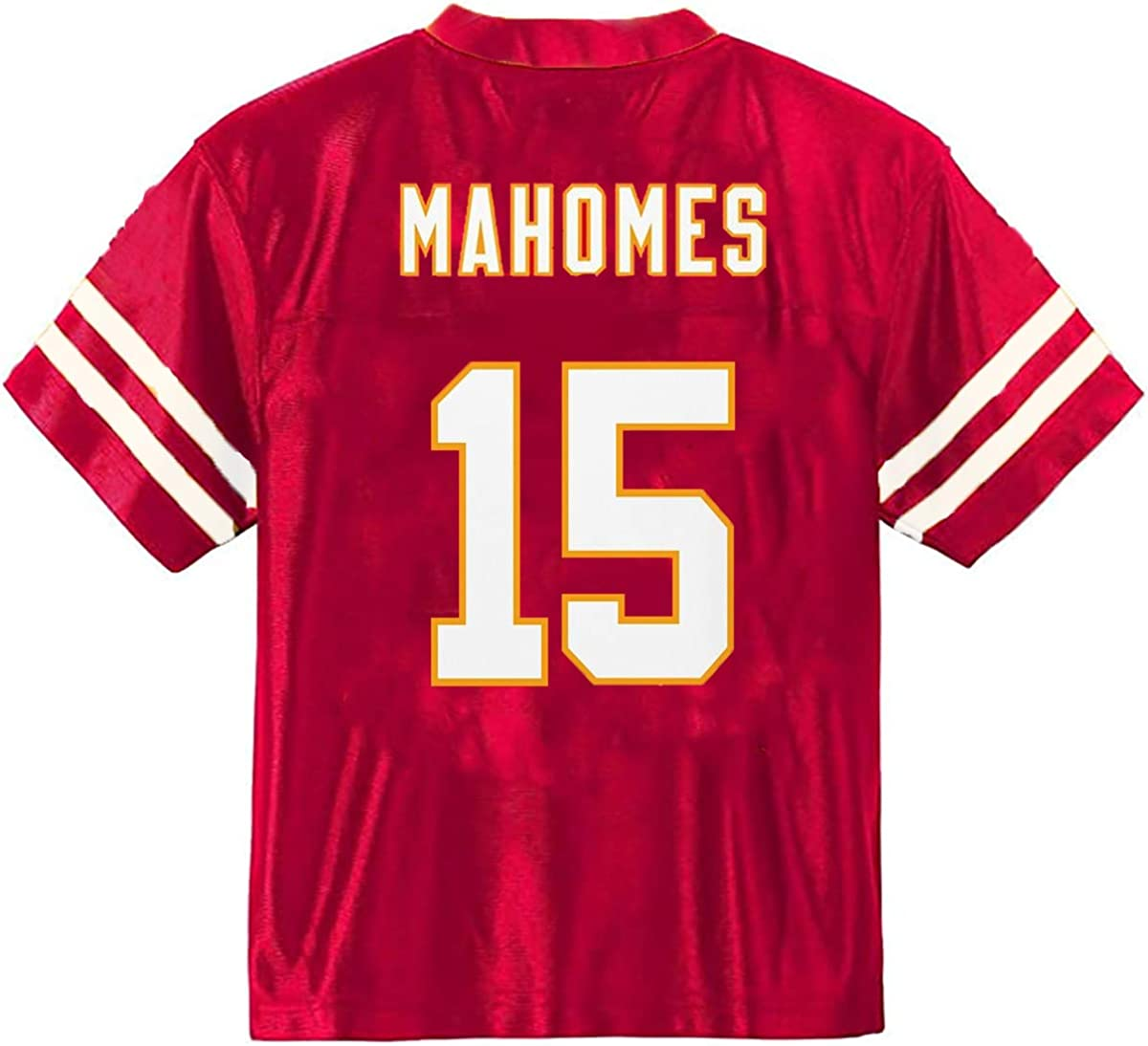 Patrick Mahomes Kansas City Chiefs #15 Youth Player Name /& Number Mesh Jersey Red
