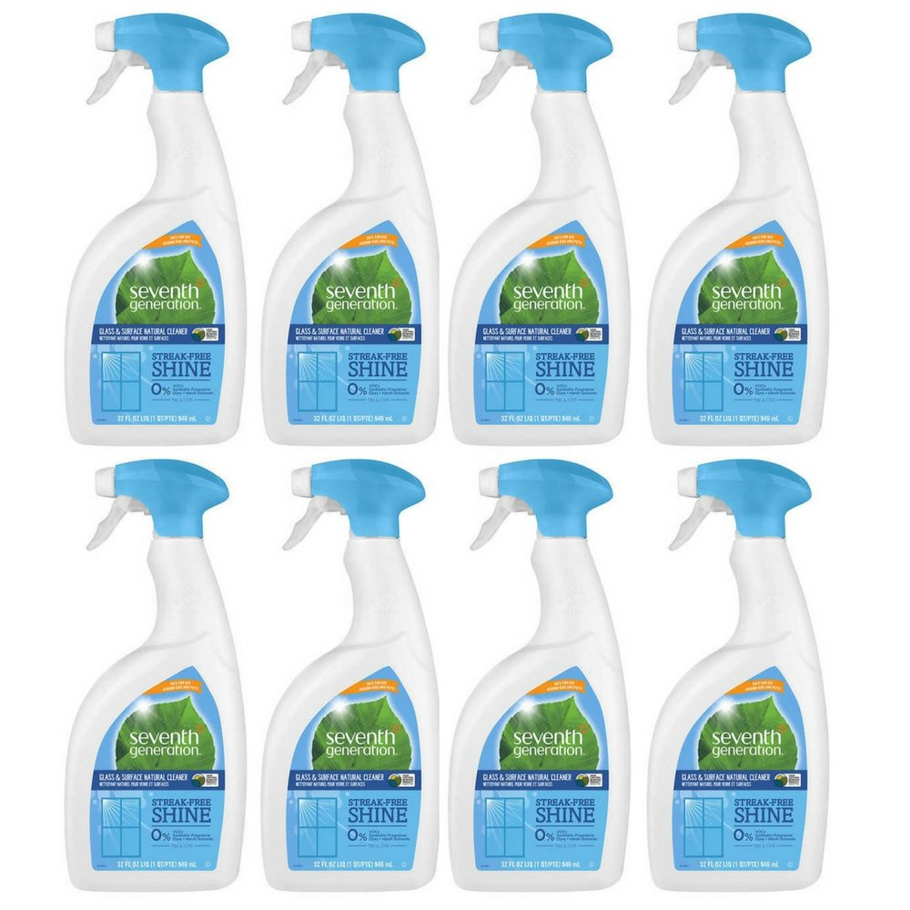 Seventh Generation Free and Clear Glass and Surface Cleaner, 32 Fluid Ounce