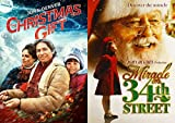 Miracle on 34th Street + The Christmas Gift 2 DVD Heartwarming Holiday Movie Set Double Feature