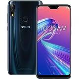 ASUS ZenFone Max Pro (M2) (ZB631KL) 4GB / 128GB 6.3インチLTEデュアルSIM SIMフリー [並行輸入品] (ミッドナイトブルー)