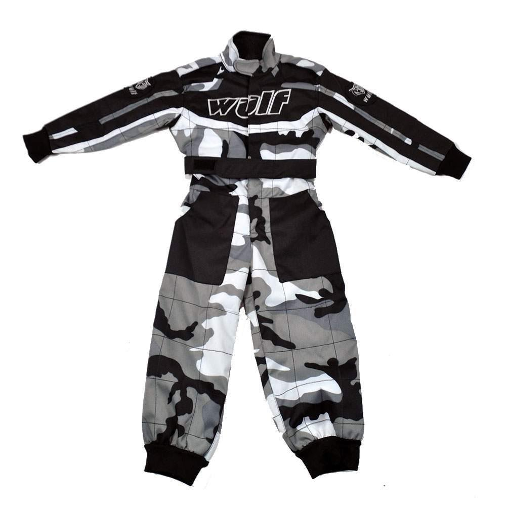 Trajes de moto para niños, traje de camuflaje, Motocross ...