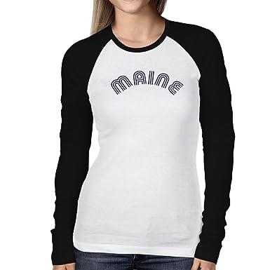 Maine Raglan T-Shirt Pk5Fa