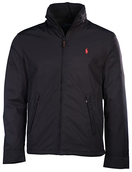 6e216e33c7923d POLO Ralph Lauren Men s Black Pony Perry Lined Jacket big and tall at  Amazon Men s Clothing store