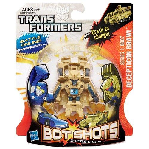 B007 Series (Transformers Bot Shots Decepticon Brawl B007 Action Figure (Series 1))