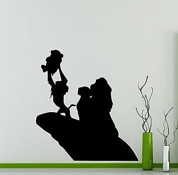 Lion King Wall Decal Simba Pumbaa Timon Scar Vinyl Sticker Home Nursery  Kids Boy Girl Room