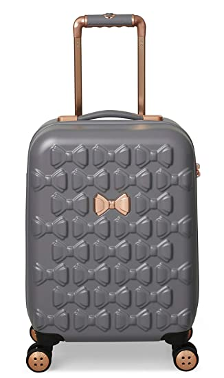 4c6fff18fa4e Ted Baker Women s Beau Collection Small Carry-on Hardside Spinner (Grey)