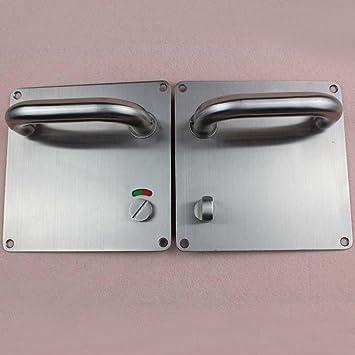 Amazon.com: biutefang cerradura de puerta acero inoxidable ...