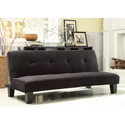 Enjoyable Amazon Com Chelsea Lane Tufted Mini Sofa Bed Lounger Caraccident5 Cool Chair Designs And Ideas Caraccident5Info