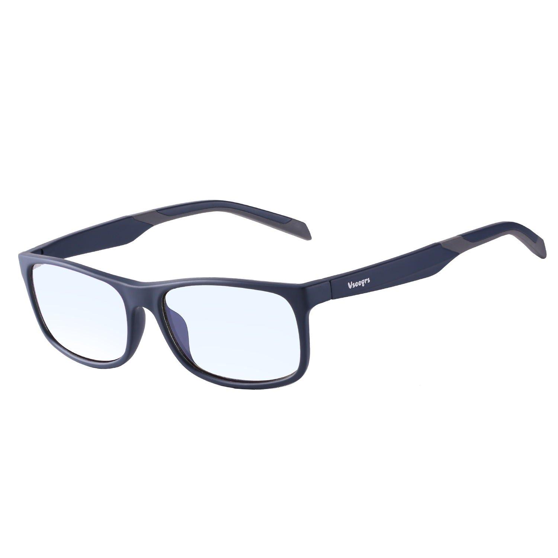 03ecd269f3 Vseegrs Blue Light Blocking Glasses Anti Eyestrain Prevent Eye Dryness - Blue  Light Shield Computer Phone
