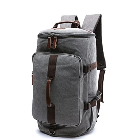 Review Large Canvas Backpack, Yousu