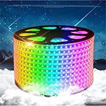 5-15m/roll 110V input 16 colors RGB ,high brightness 60led/m waterproof LED strip with remote controller