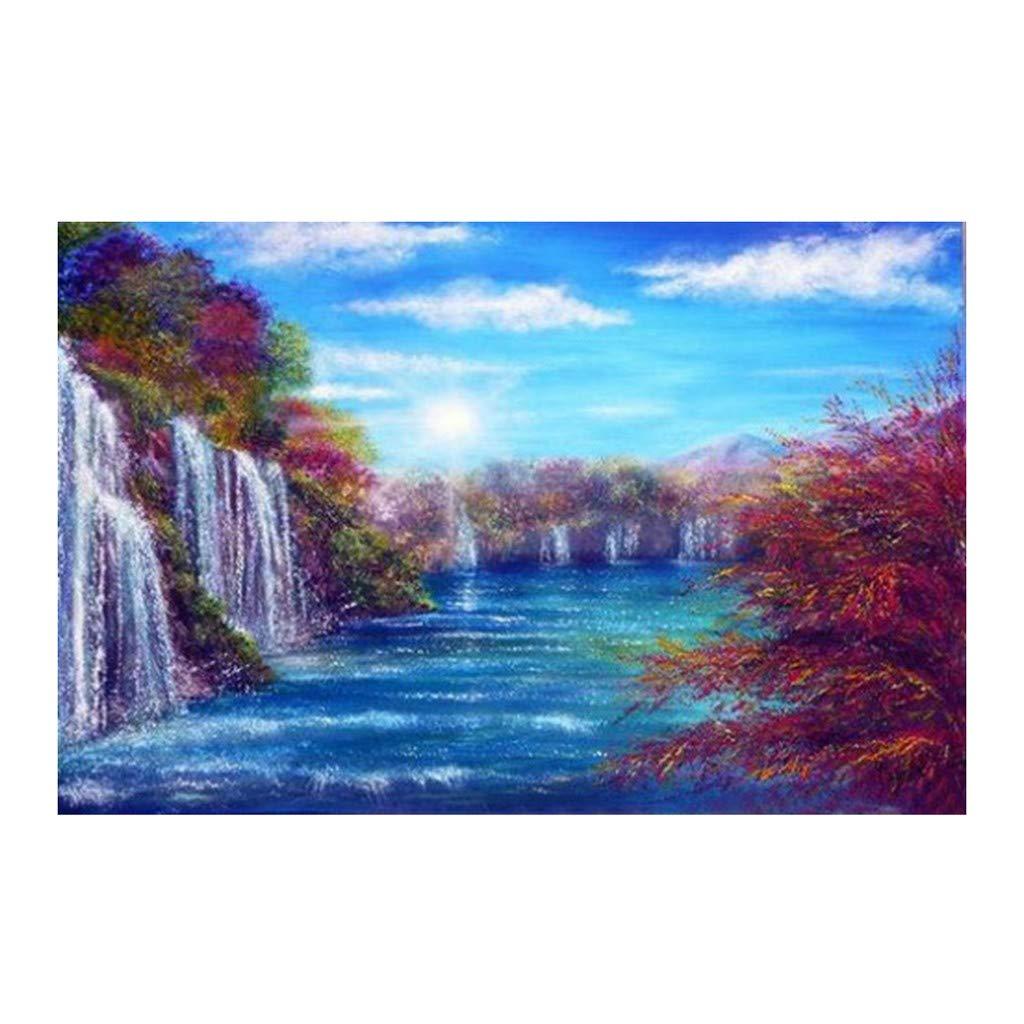MEIbax Diamond Painting Kits Beautiful Scene Full Diamond 40cm x 30cm Crystal Diamond Pictures Arts Crafts for Home Wall Decor