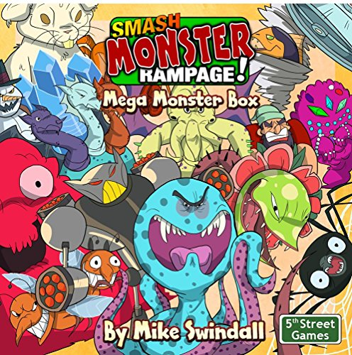 Smash Monster Rampage! Mega Monster Box (Rampage Board)