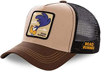Capslab Gorra Correcaminos Road Runner Marrón Unisex: Amazon.es ...